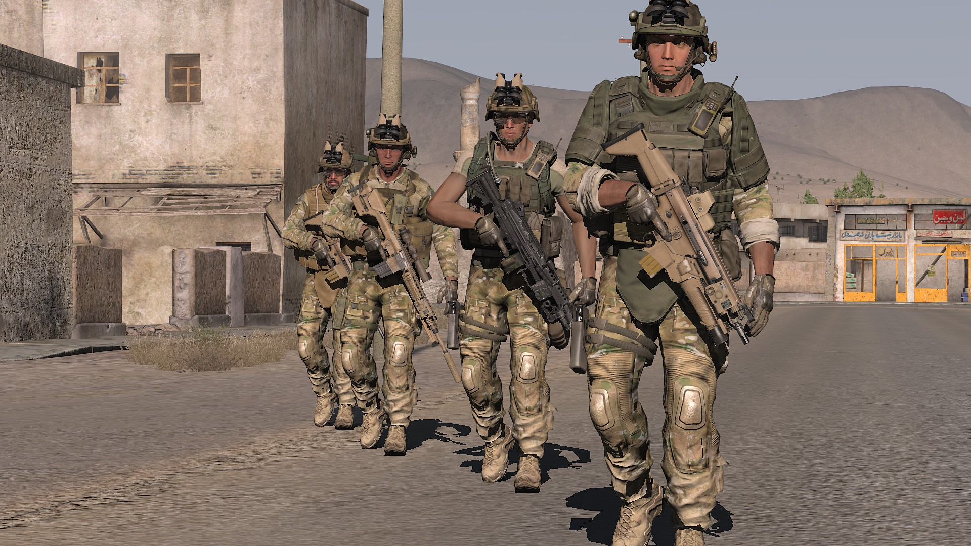 mesopotam iraqs armed forces - HD1920×1080